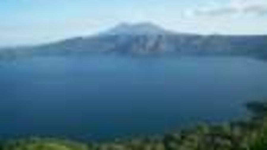Apoyo's volcanic lagoon
