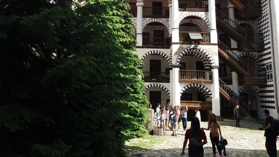 Rila monastery, the most important religious place in Bulgaria