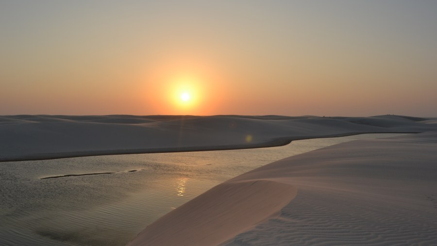 the biggest sand dunes in southamerica