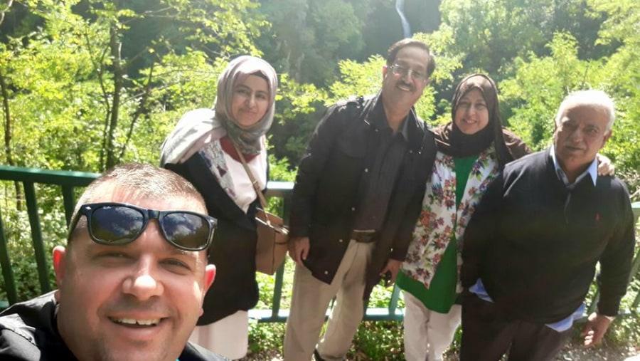 a group from Dubai