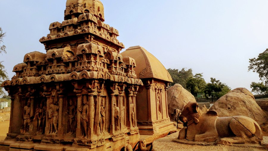 5 rathas temple