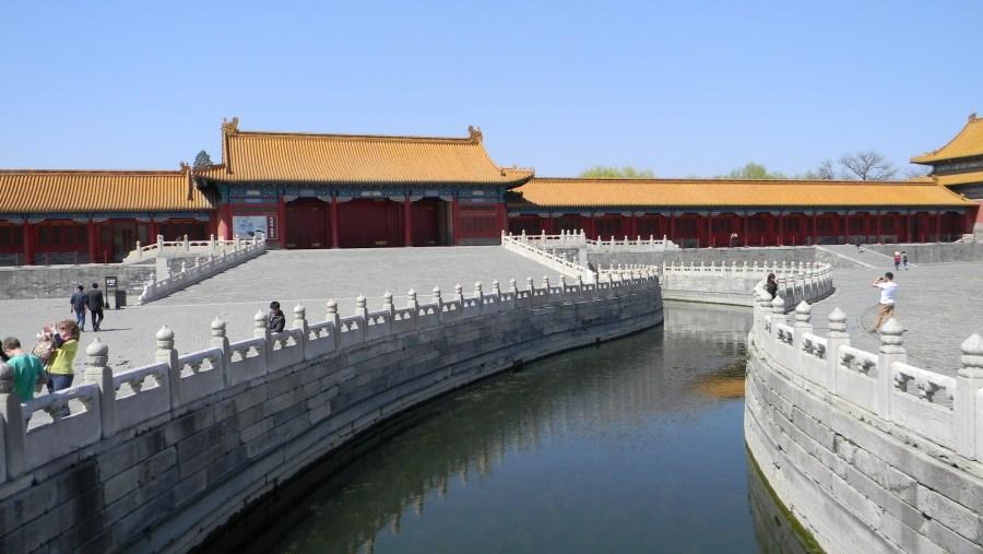 Inner-golden River of Forbidden City