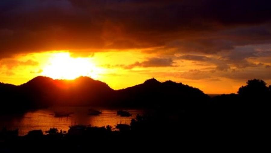 Your beautiful sunset at Paradise