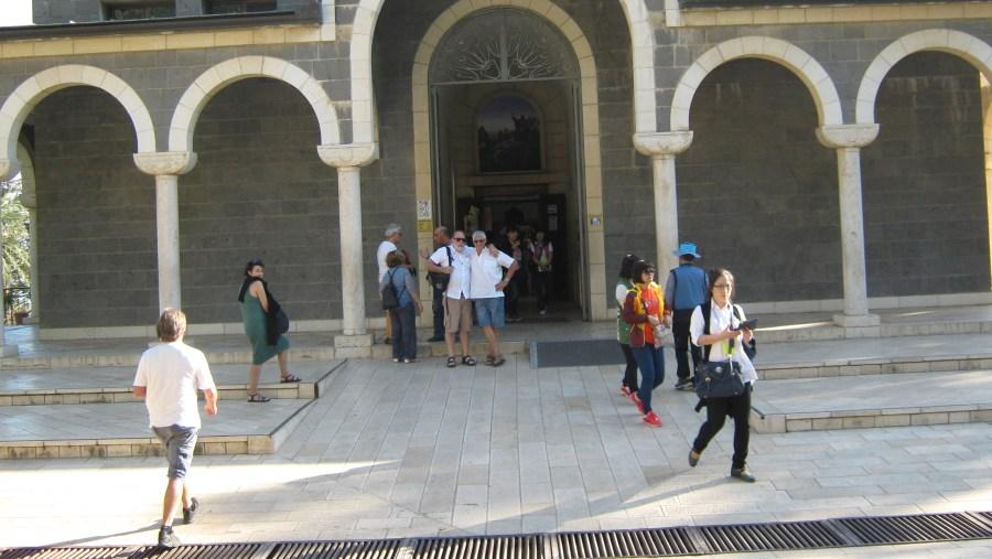 Mt. of Beatitudes Basilique