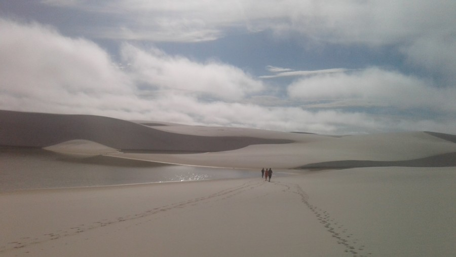 The amazing landscape of Lençóis Maranhenses National Park