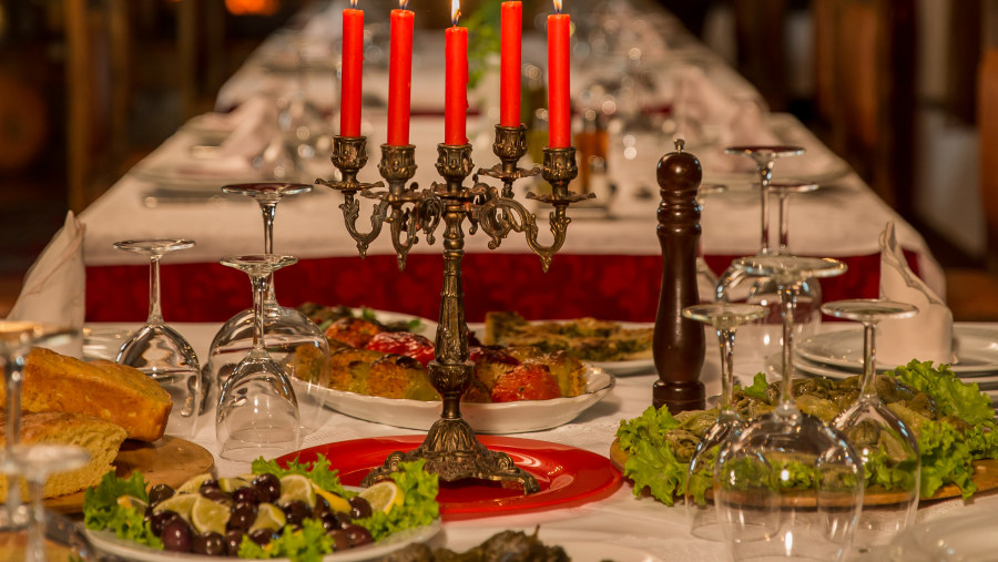 traditional food Albania, Albania culinary ,Castle Park Restaurant berat,