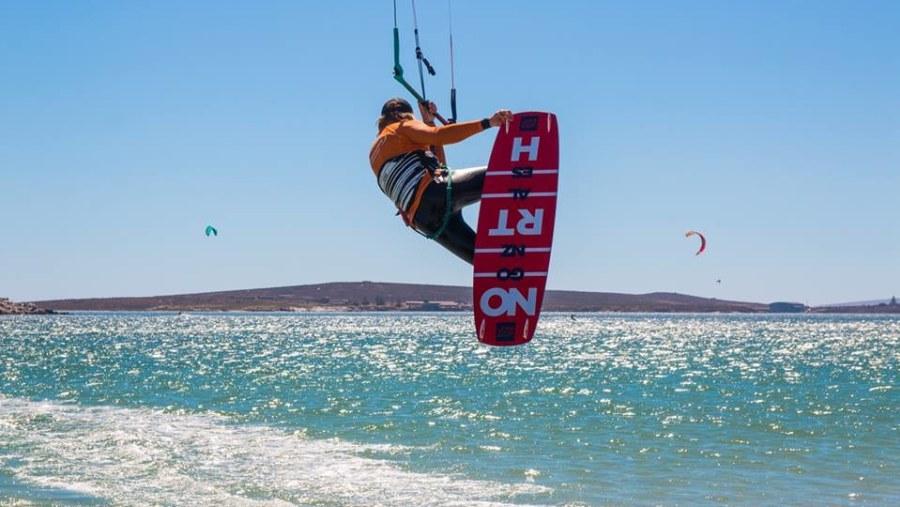 Kite Boarding on the Langebaan Lagoon