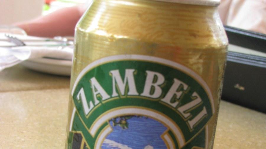 Mighty river, mighty beer! Zambezi