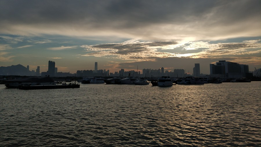 Sunset in Kwun Tong