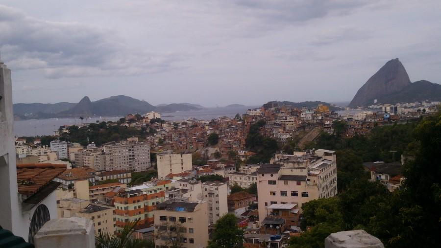 From Parque das Ruínas to the entrance of the Guanabara Bay
