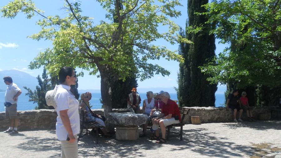 At St John of Kaneo-Ohrid