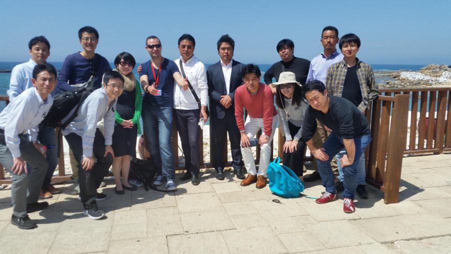 Hosting a Japanese delegation in Israel