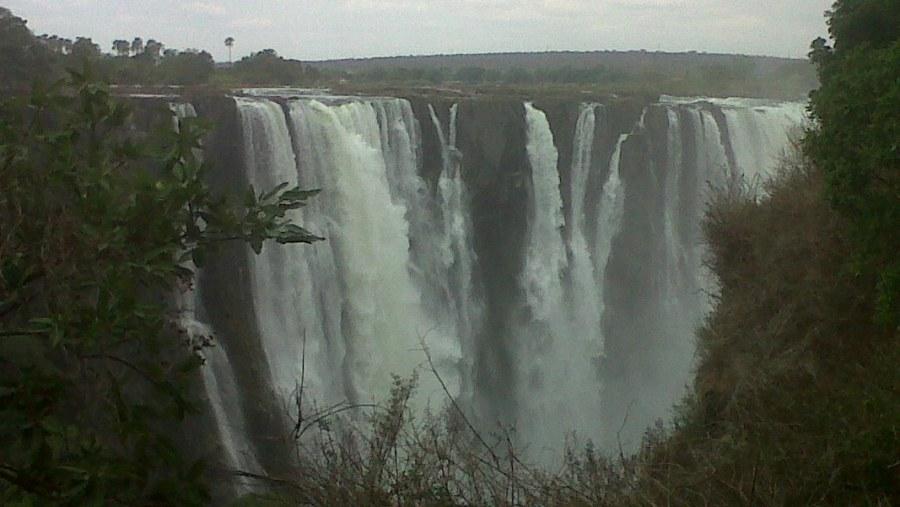 The Main Falls In January