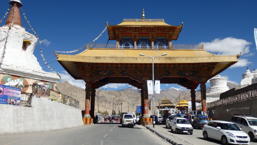 Leh City Gate