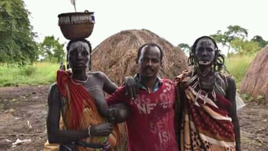 One of the omo Valley tribe  Mursi well known by Iipstrech