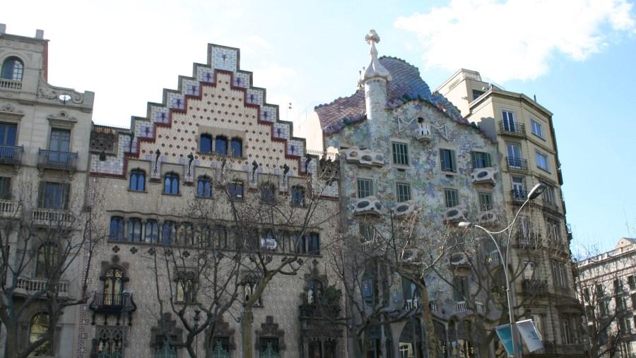 Casa Ametller and Casa Batlló