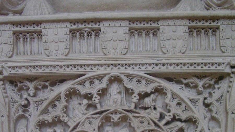 Detail from D.Inês de Castro's tomb