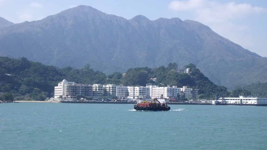 View of Mui Wo town