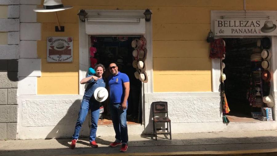Old City, Panama hat
