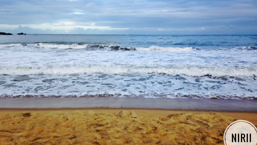 Beachside, waves, sandy