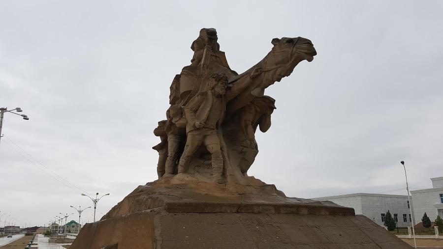 Oil Explorers monument