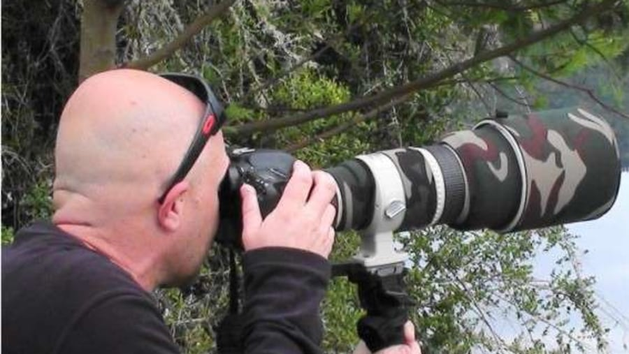 Bird watching photography with  Walk on the Wild Side and Howard Butcher