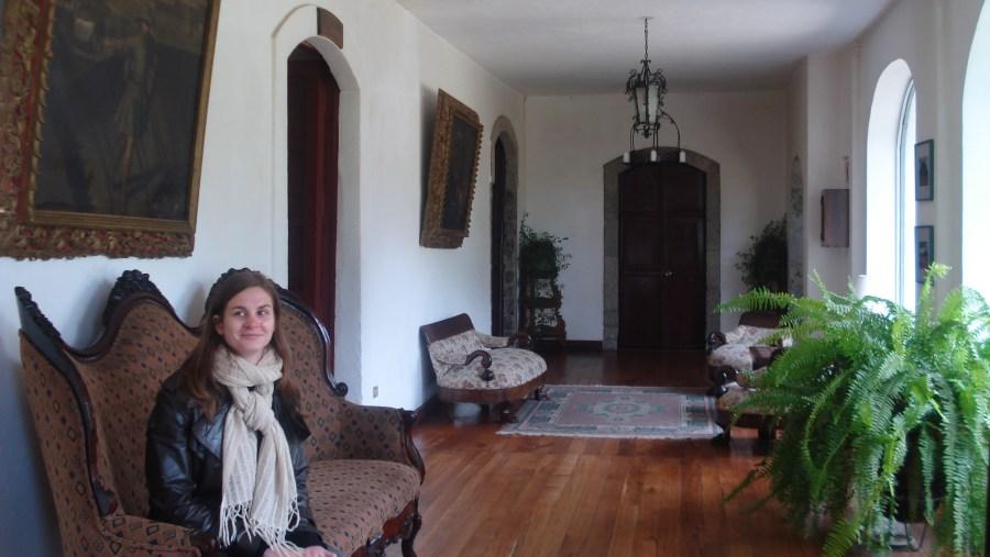 Erica in La Ciénega Hacienda.