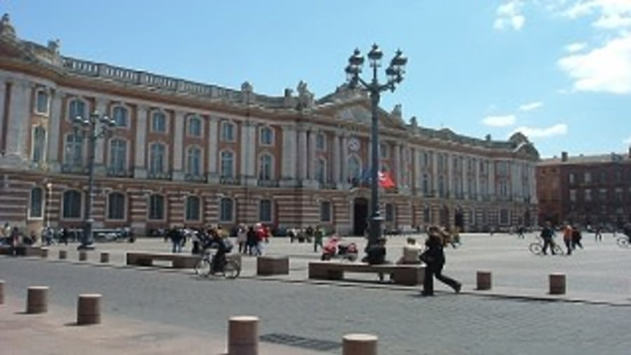 The Capitol place of Toulouse