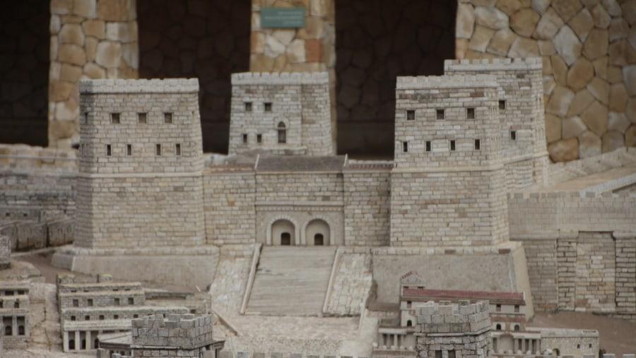 Model of Antonia Fortress