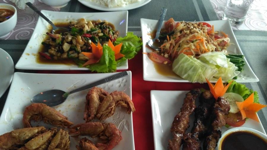 delicious meals @ Hantharwaddy Restaurant