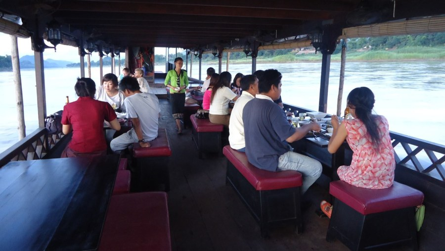 Lunch or Dinner cruise on the Mekong river at Luang Prabang