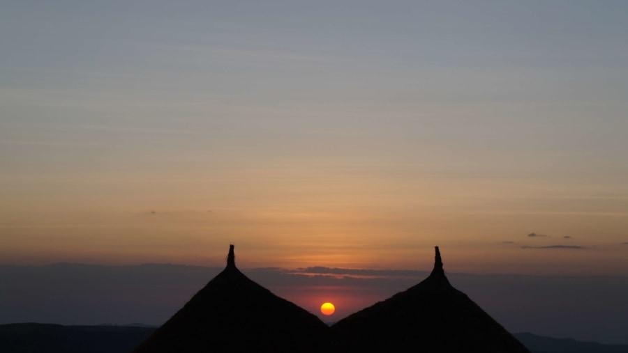 Sun set @SIMIEN Mountain NP