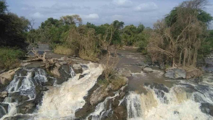 Awash River falls from Awash National park