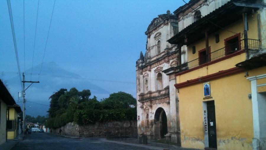 Ruins of San Agustín's church