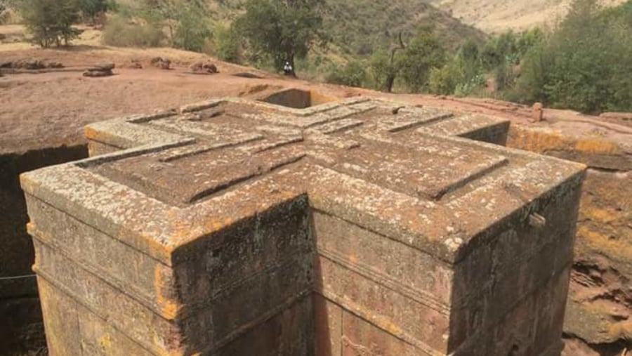 One of our 12th century Rockhewn Church of Lalibela