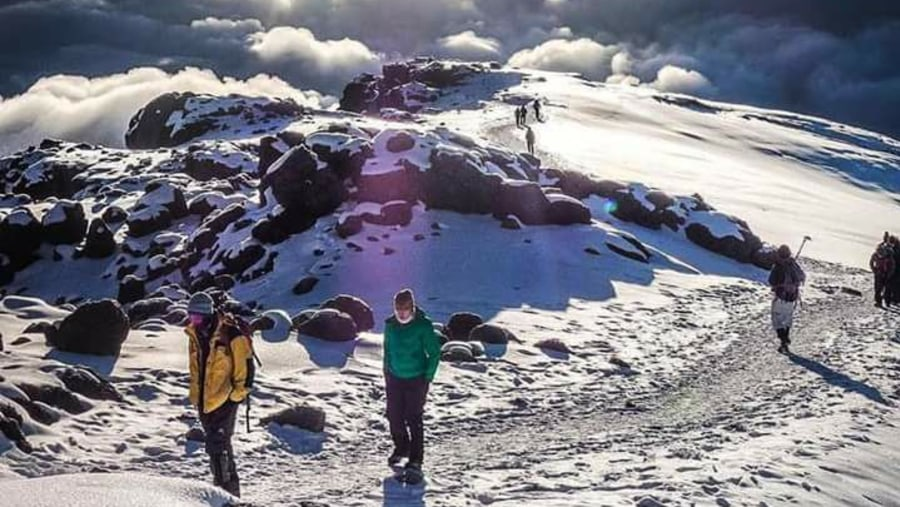 Amazing kilimanjaro trek with excellent guides!