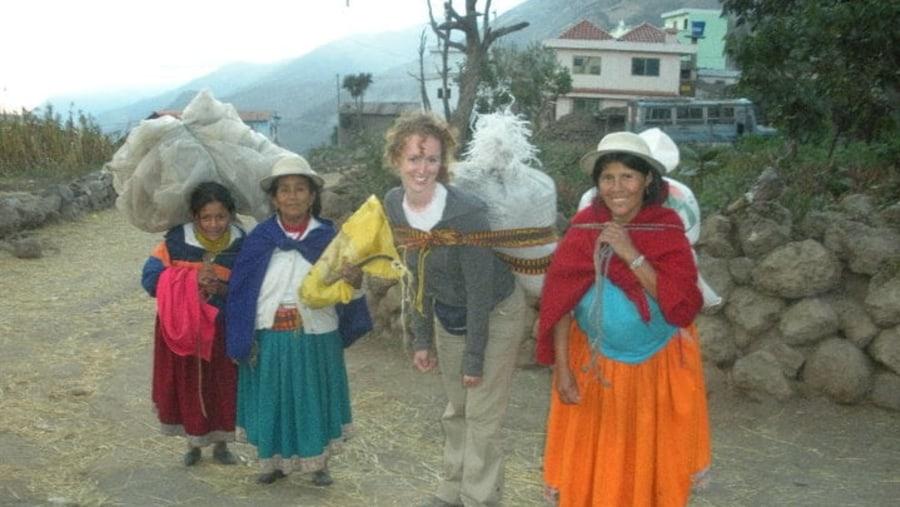 Andean volunteer