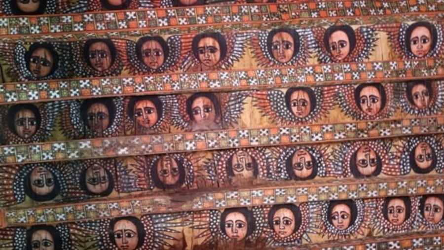 Gondar trinity church