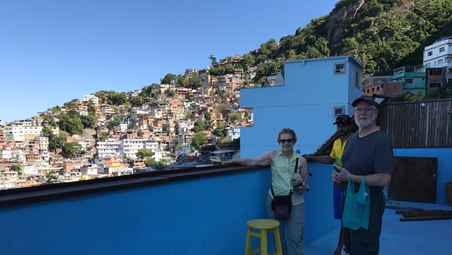 Vidigal Favela Walking Tour Restaurant Stop