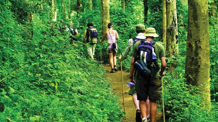 Hiking to minority villages