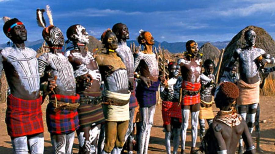 ethiopia OMO PEOPLE