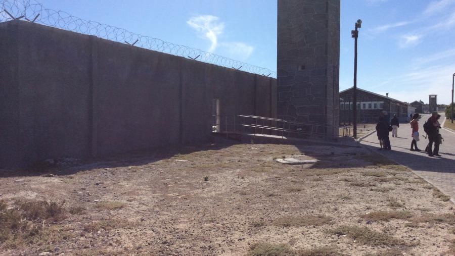 Roben island prison