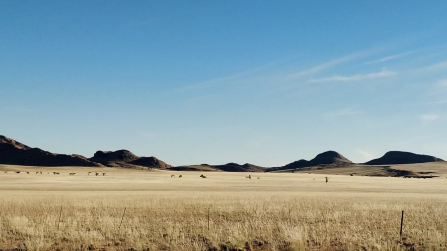 The road to Luderitz