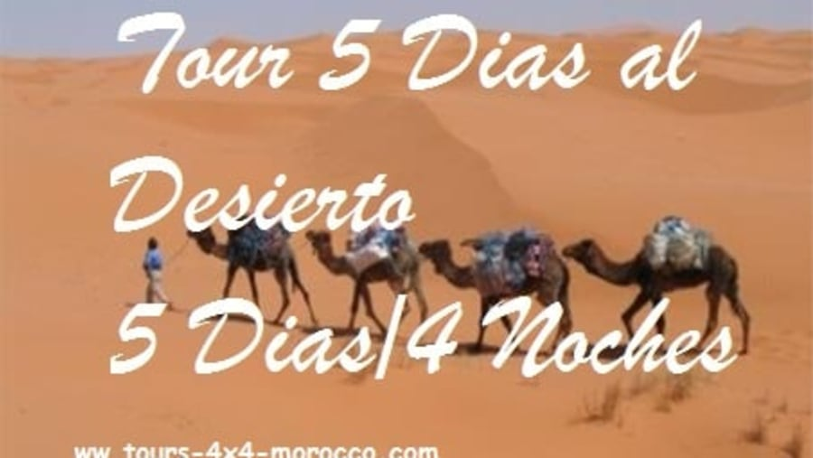 5 days tour to the desert
