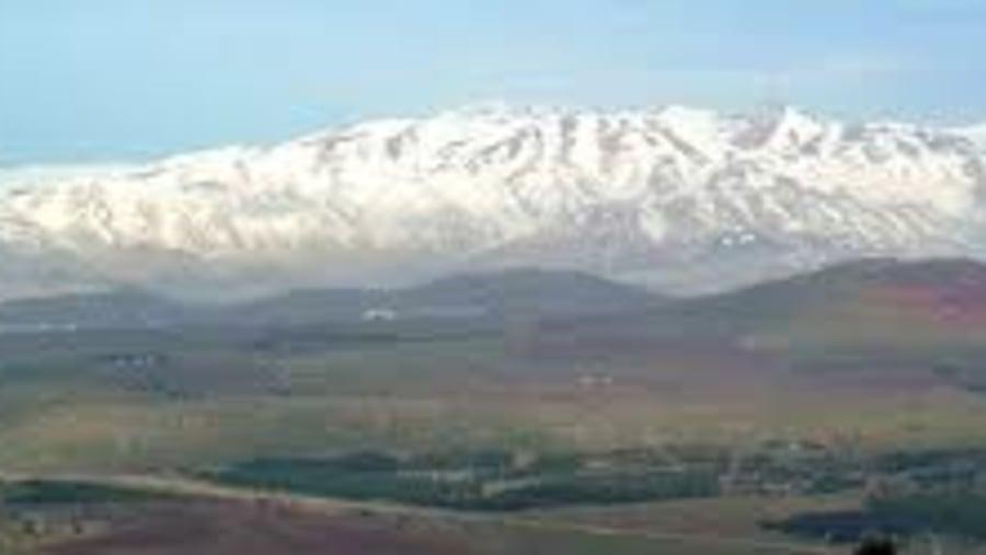 Vue from Mt Bental