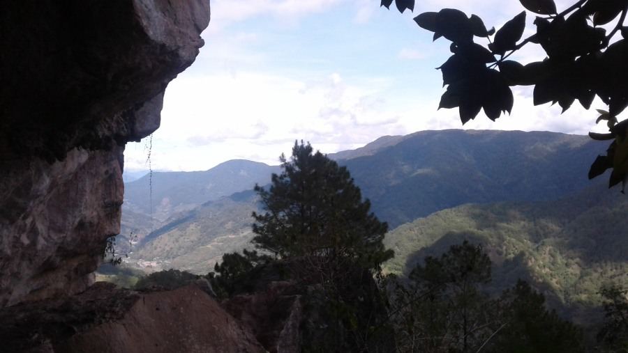 View from the Caves
