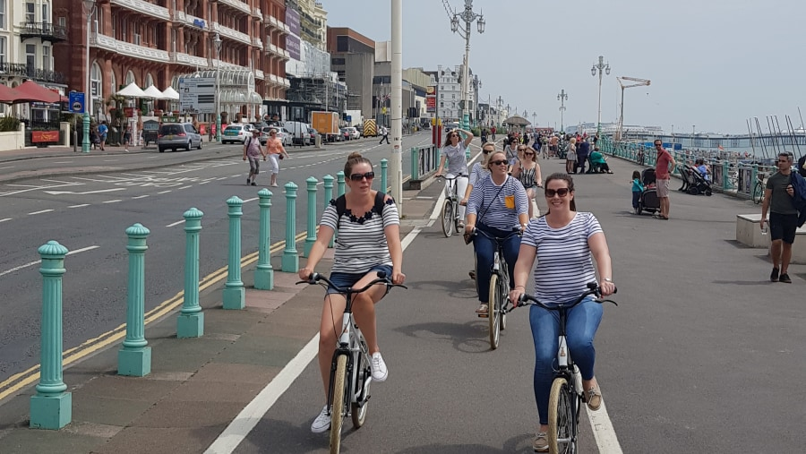Brighton seafront bike tour