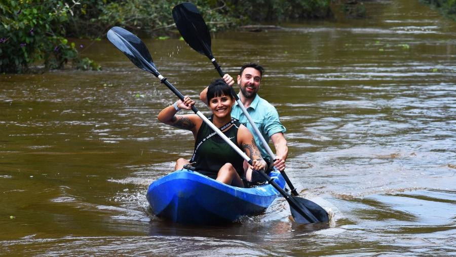 Kayak Adventures in cumaceba river