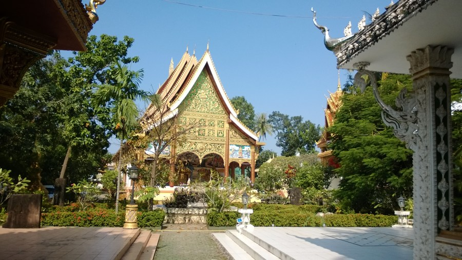 In Peng Temple, Chanthabouly, Vientiane Capital