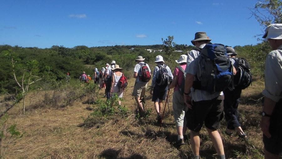 UK Ramblers on the trail